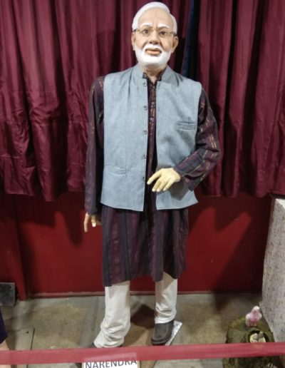 Wax Statue of Shri. Narendra Modiji