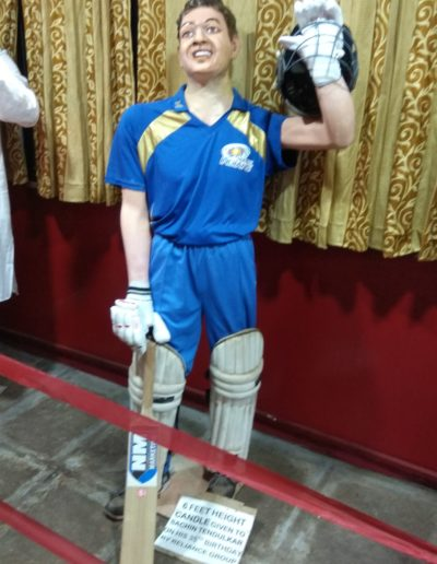 Wax Statue of Shri. Sachin Tendulkarji